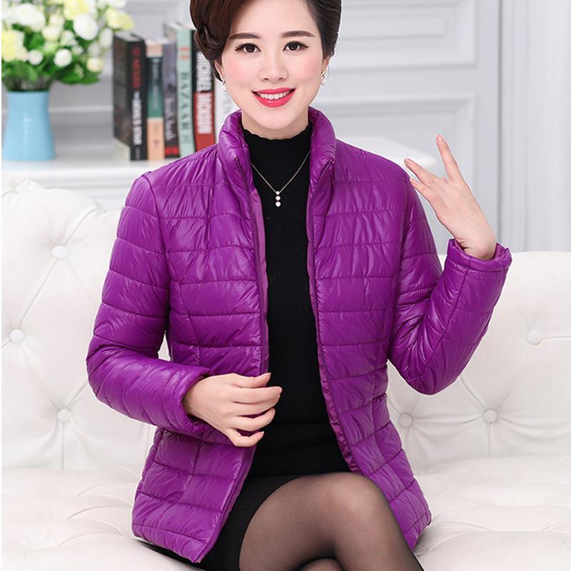 Плюс размер куртки зимы женщин повелительниц пальто хлопка Parka Женский Черный Красный Высокое качество Тонкий портативный пояс ватник