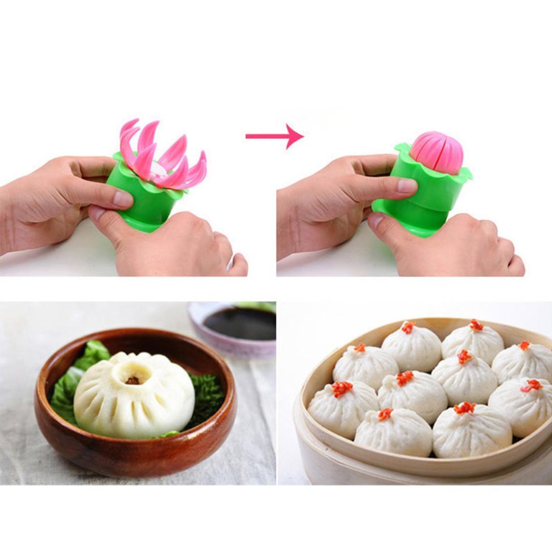 Hot Sale 1Pcs Pastry Pie Steam Bun Dumpling Maker Mold Mould Diy Tool Steamed Buns Steamed Stuffed Bun Making Mold