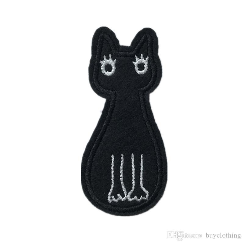 Diy kediler için giyim yamaları demir işlemeli yama aplike üzerinde demir yamalar dikiş aksesuarları rozeti çıkartmalar giysi çanta