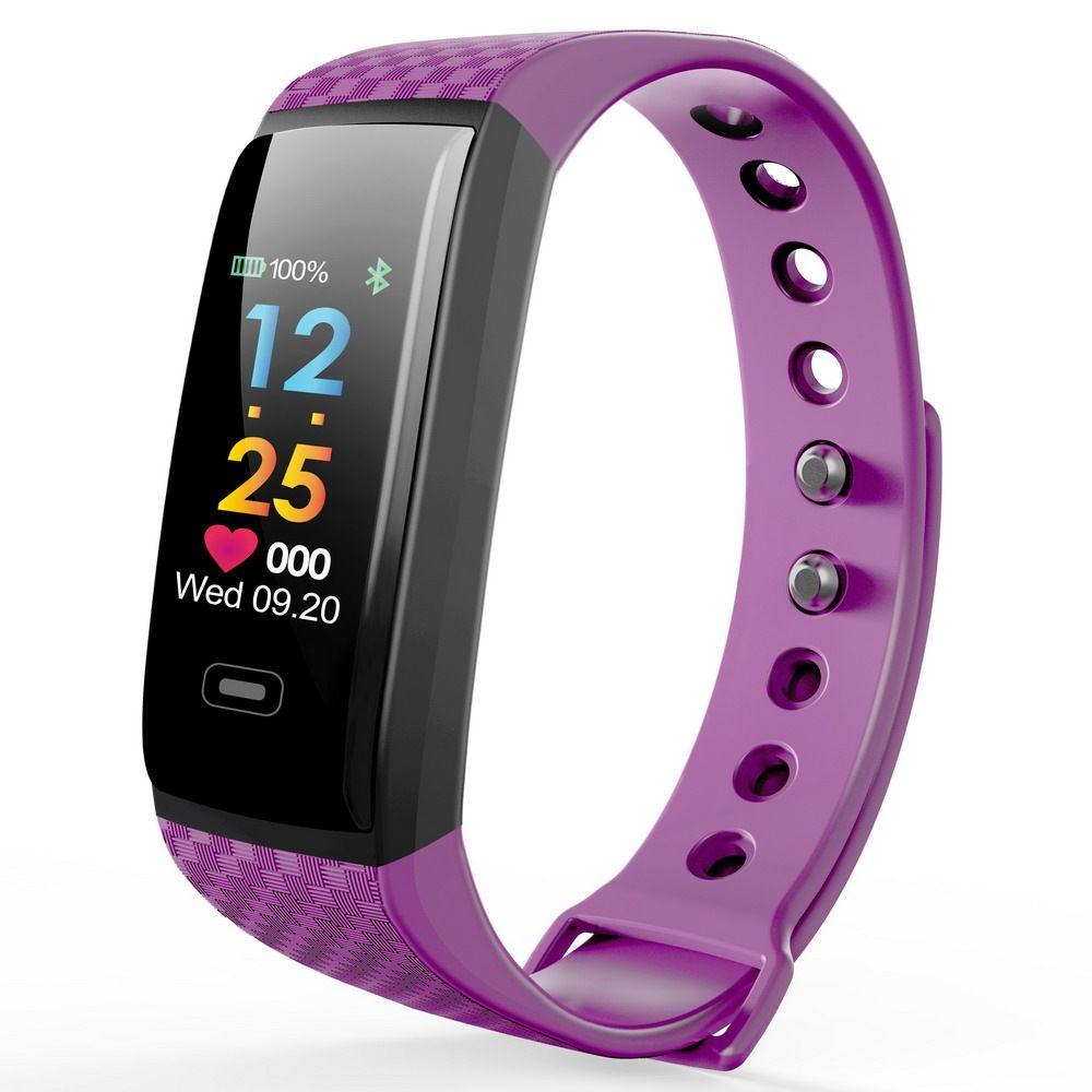 2018 Sport Bracelet Smart Watch Men Women Digital LED Clock Bluetooth Heart Rate Blood Pressure Pedometer For iOS Android