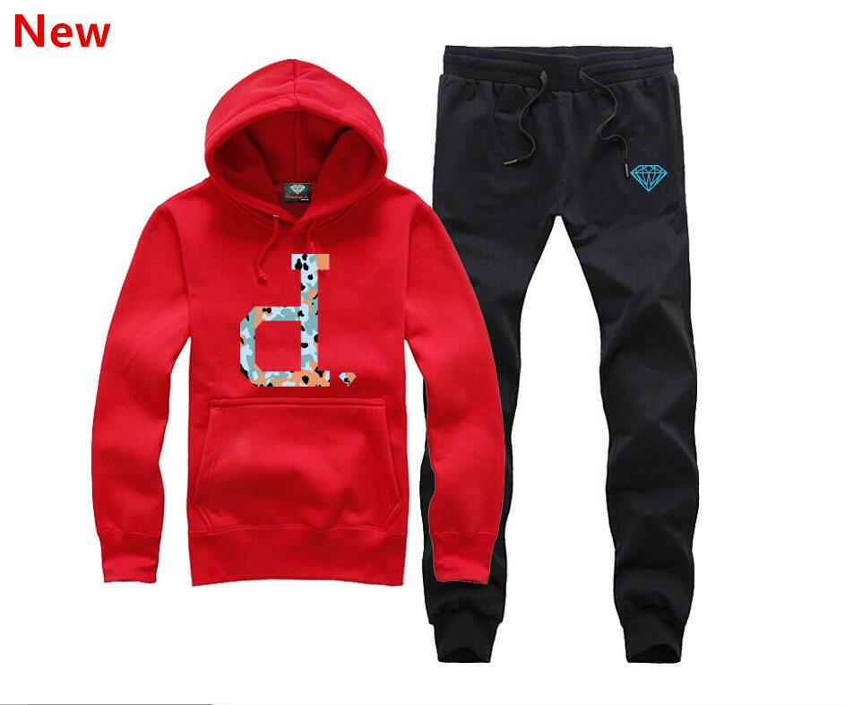 Sweat à capuche diamant Supply Co Homme Sweats Pulls Hip Hop Camisetas Fitness Hooded Ding Survêtements overs hommes H-11