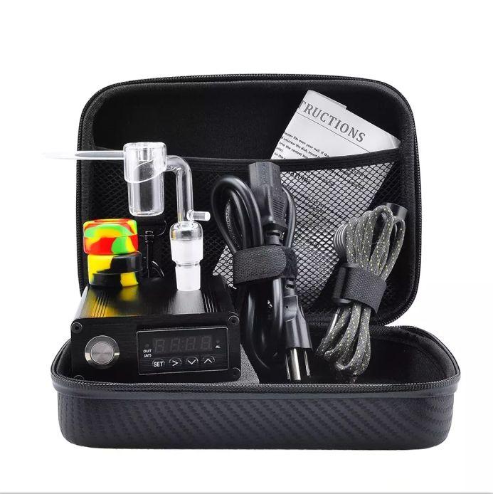 Quartz E Dab Nail 14 18 MM Female Male Quartz Nail Electric Dab Nail Complete Kit Temperature Controller Tools BONG Kit