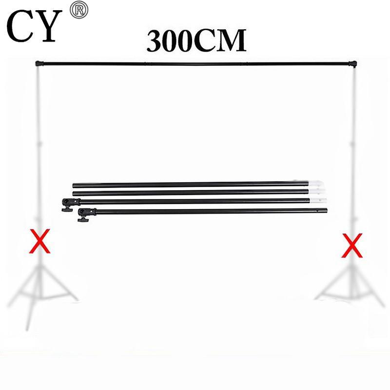 Foto-Studio Vedio Hintergrund Hintergründe Unterstützung Crossbar 3m Hintergrund Quer Bar für Light Stand Stativ PSBS1