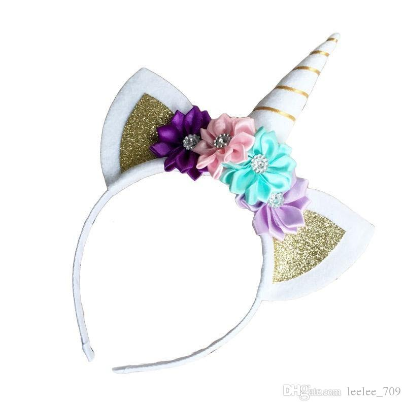 Magical Unicorn Horn Head Party Hair Headband Fancy Dress Cosplay UK Stock Decor