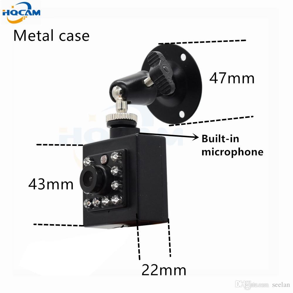 HQCAM 1080P 960P 720P POE IP-камера Audi Onvif 25FPS Внутренняя мини-IP-камера видеонаблюдения Встроенная микрофон для видеонаблюдения xmeye