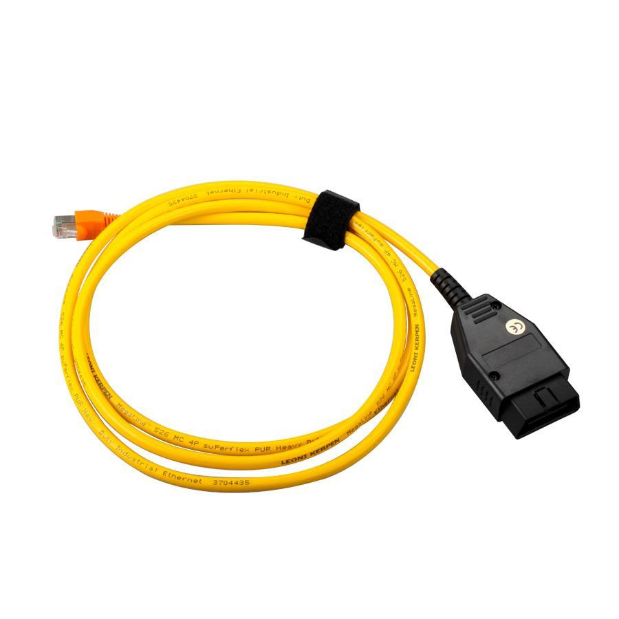 New arrival for BMW ENET Ethernet to OBD Interface Cable E-SYS ICOM Coding F-Series Diagnostic Cable