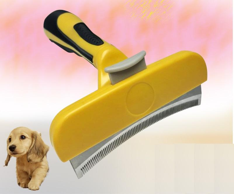 Dog Brush Cat Brush for Shedding, Pet Grooming Brush Tool Dematting Combs for Small, Medium & Large Dogs and Cats, Short To Long Hair