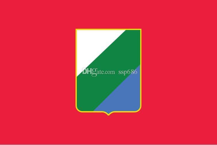 Włochy Flaga Abruzja 3FT X 5FT poliester banner latający 150 * 90 cm niestandardowa flaga na zewnątrz