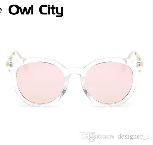 Neueste Bunte Linsen Beschichtung Sonnenbrille Weibliche Klassische ovale Sonne Sonnenbrille Retro Zubehör Eyewear Frauen Gläser UKTDQ