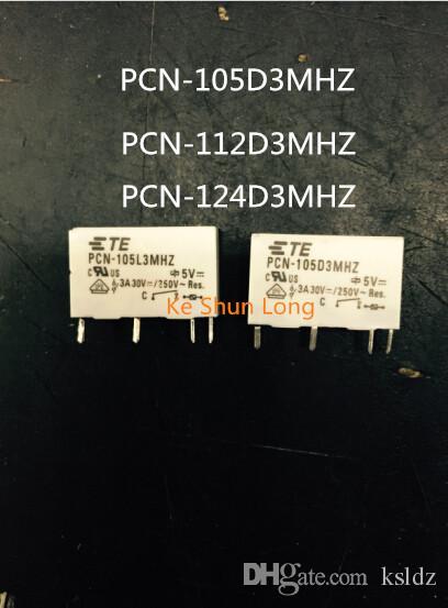 Lotto di trasporto libero (5 pezzi / lottp) 100% Originale Nuovo TE TYCO OEG PCN-105D3MHZ PCN-112D3MHZ PCN-124D3MHZ 4PINS 3A 5 VDC 24 VDC 24 VDC Relè di Potenza
