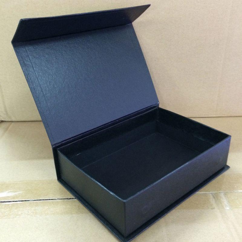10 PCS No Logo Packaging Evaginable di carta con scatola di imballaggio regalo regalo regalo rettangolare Dimensioni 145x90x52MM