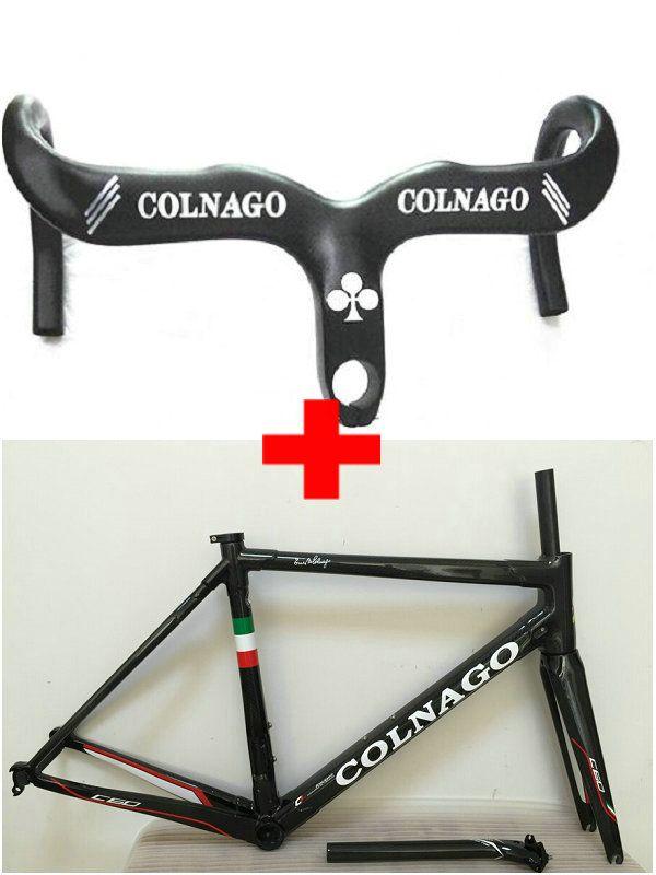 Großhandel Colnago Carbon Lenker Schwarz Colnago C60 Carbon ...