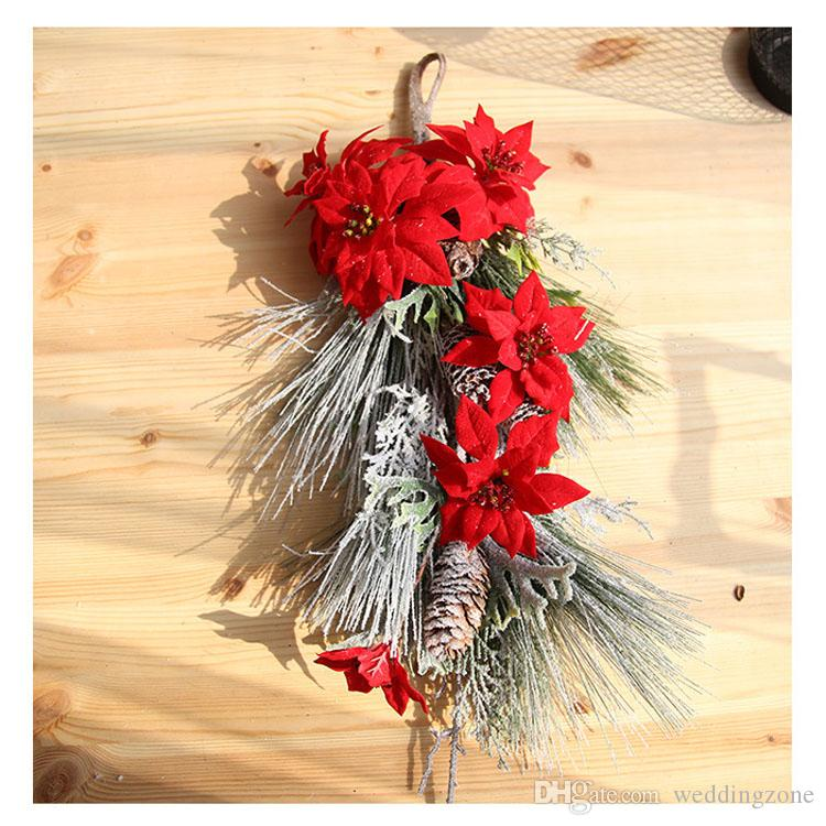 home decor silk floral arrangement floral decor tropical.htm 64cm 6heads christmas decoration silk flowers dy1 591 artificial  64cm 6heads christmas decoration silk
