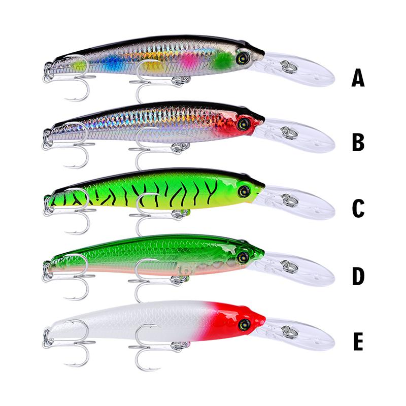 New Classic Designer Minnow Laser swimbaits 19.5cm 46.5g Deep Diving DOG WALKING Swimming Long Lip fishing bait