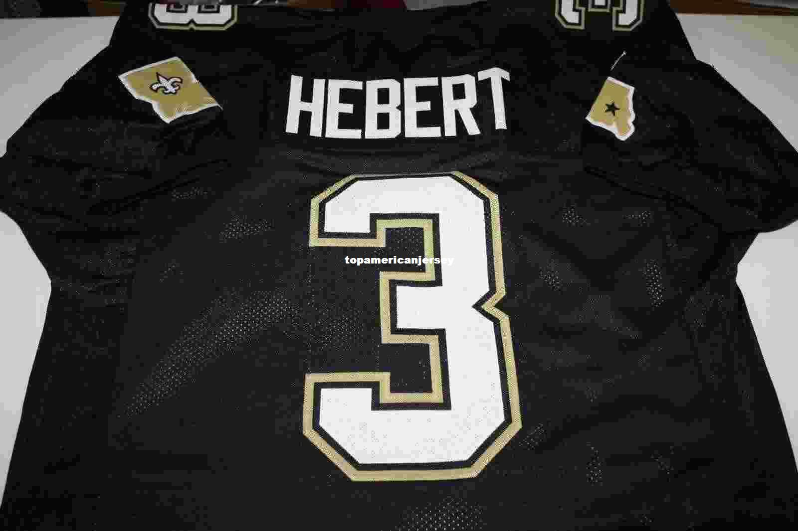 bobby hebert jersey