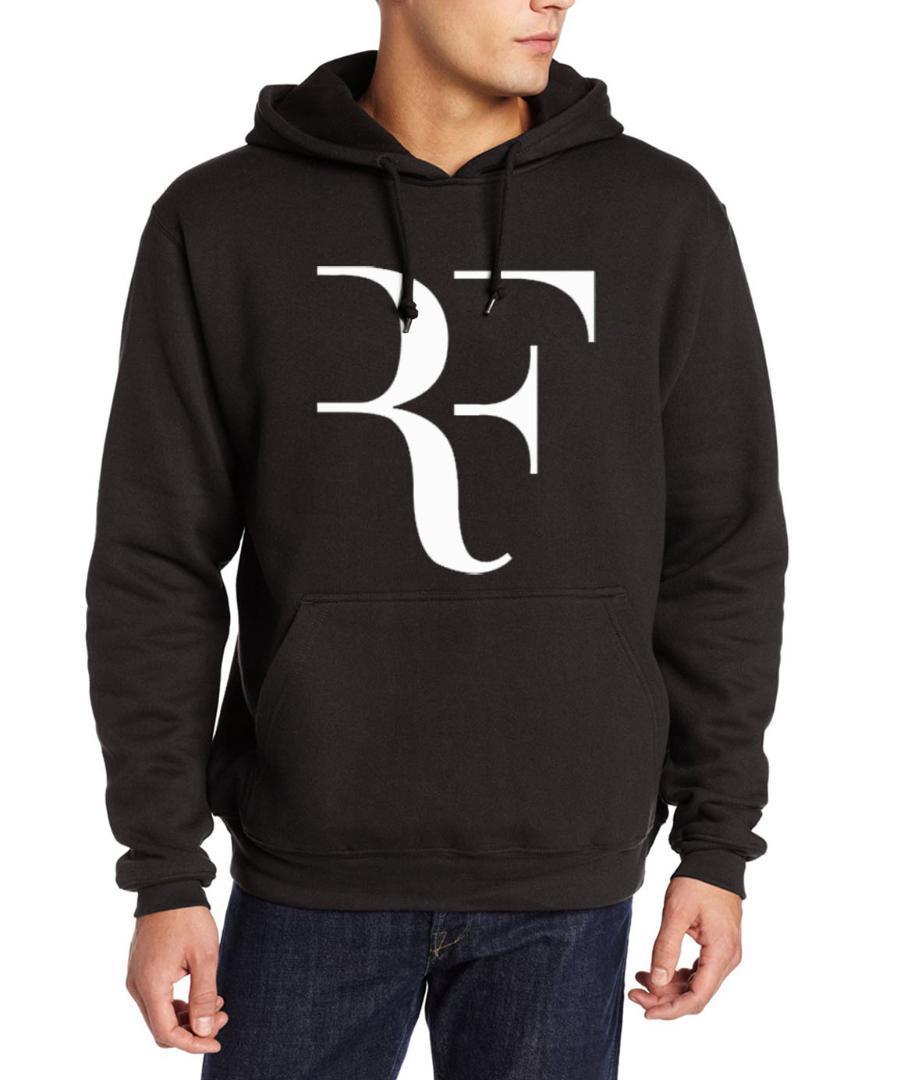 2017 men fleece casual clothing hipster roger federer fitness sweatshirts autumn winter hip-hop brand tracksuits kpop hoodies