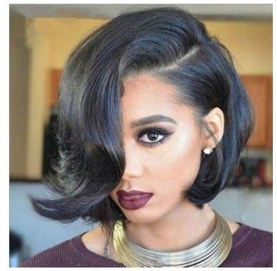 Europeu e Americano Preto Cinza Moda Moda cabelo liso fibra de peruca Yiwu venda direta da fábrica