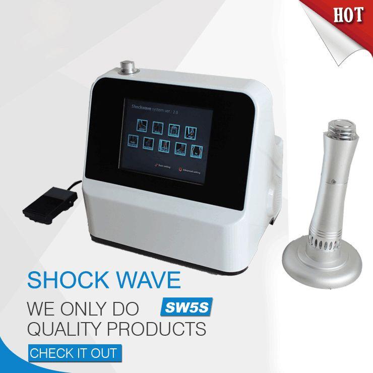 Physiothérapie ShockWave machine Shockwave Therapy Appareil ESWT radial Équipement de physiothérapie Shock Wave For Sports Soulager la douleur