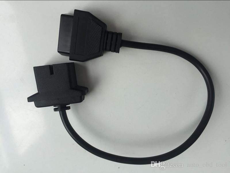 For Chrysler 6 Pin OBD2 Adapter Diagnose Fault Code DTC Reader OBD OBD1  OBDII Adaptor For Dodge For Jeep Laptop Diagnostic Tool Laptop Diagnostic