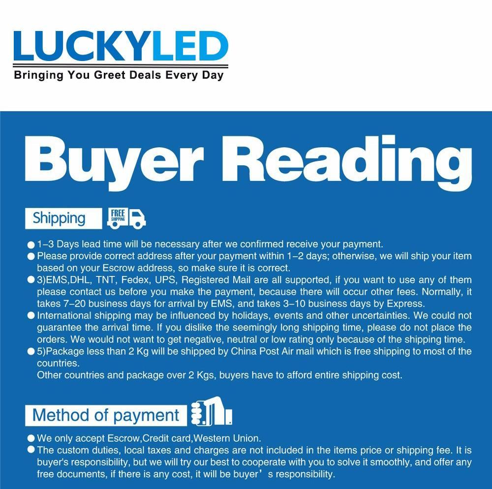LUCKYLED Buyer Reading 1