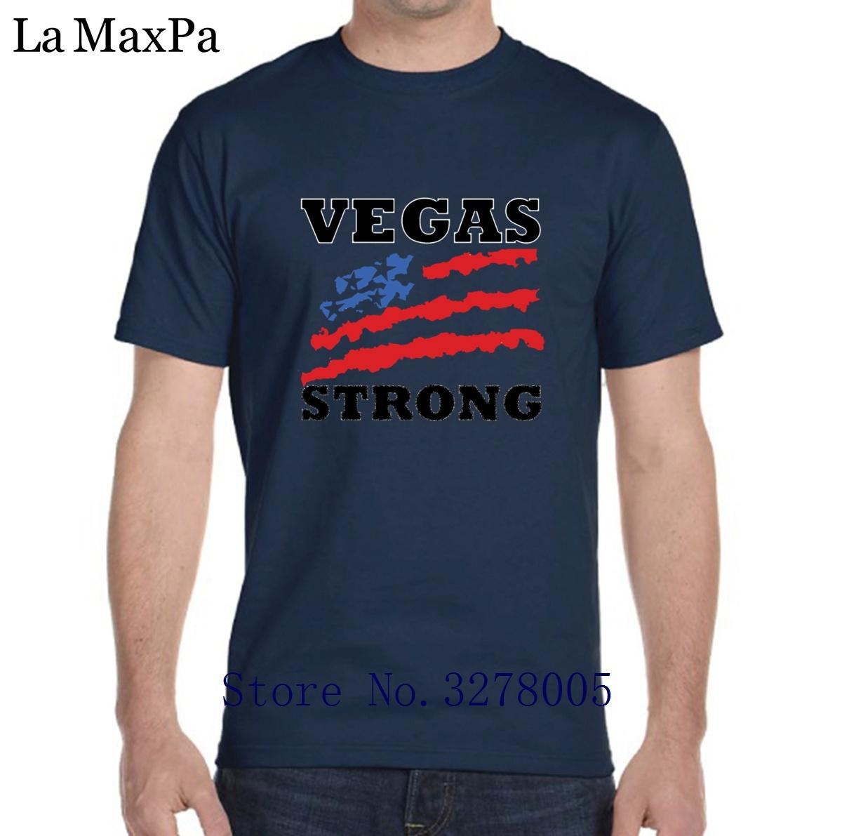 Vegas Strong Baby Girl Short Sleeve Round Neck Cotton Tshit