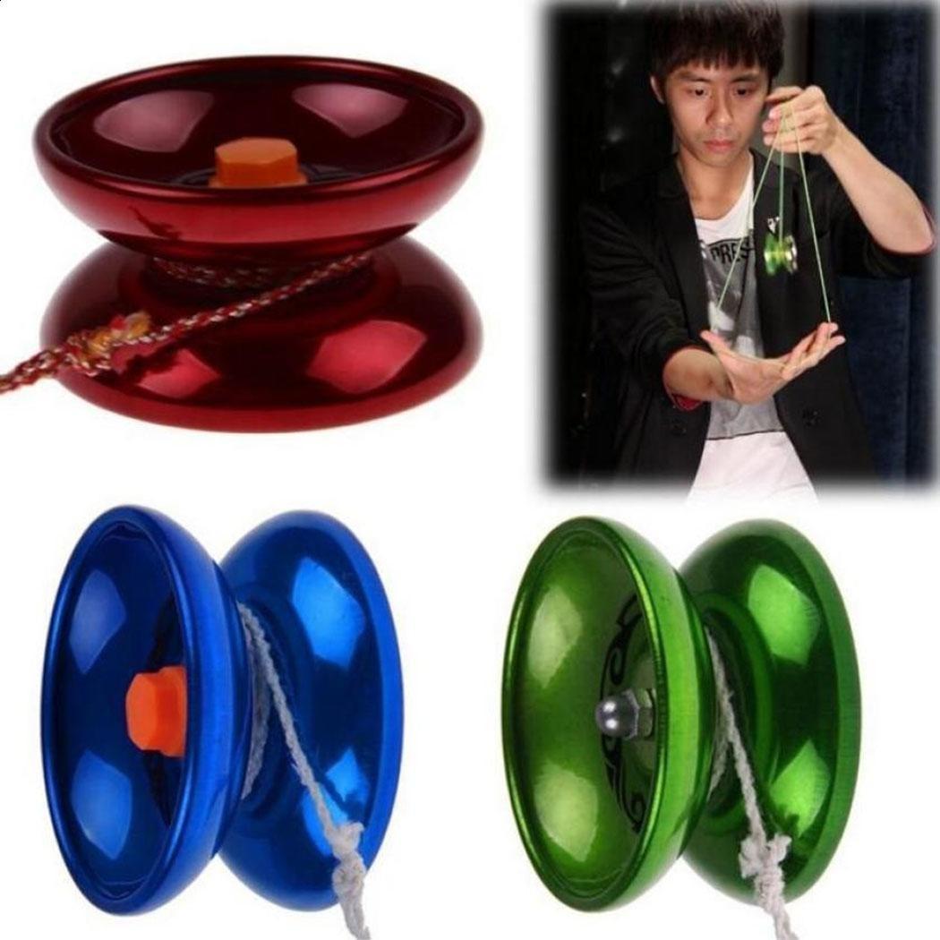 Polished Aluminum Alloy YoYo Balls Metel Professional Yo-yo Children Adult IS 01