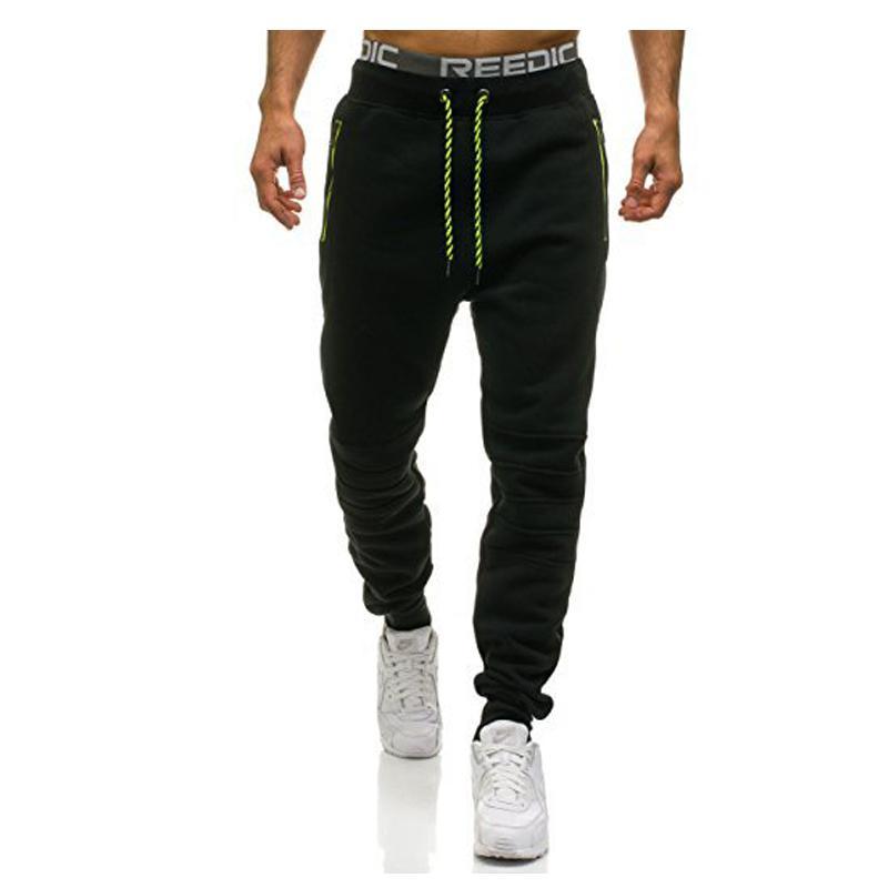 Long pants Mid Cotton Mens Joggers Cargo Men Pants Sweatpants Harem Men Jogger Pantalones Hombre Skinny Trousers