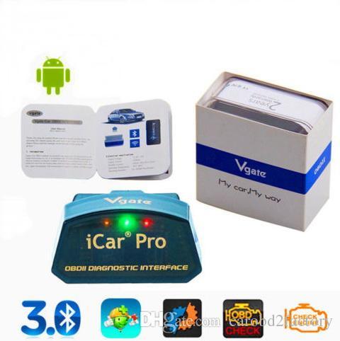 Nuovo arrivo ----- Vgate iCar Pro Bluetooth 3.0 ELM327 OBD2 strumento diagnostico auto scanner per Android con HK spedizione gratuita