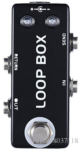 Mini LOOP BOX Guitar Effect Pedal Switching Loop selection