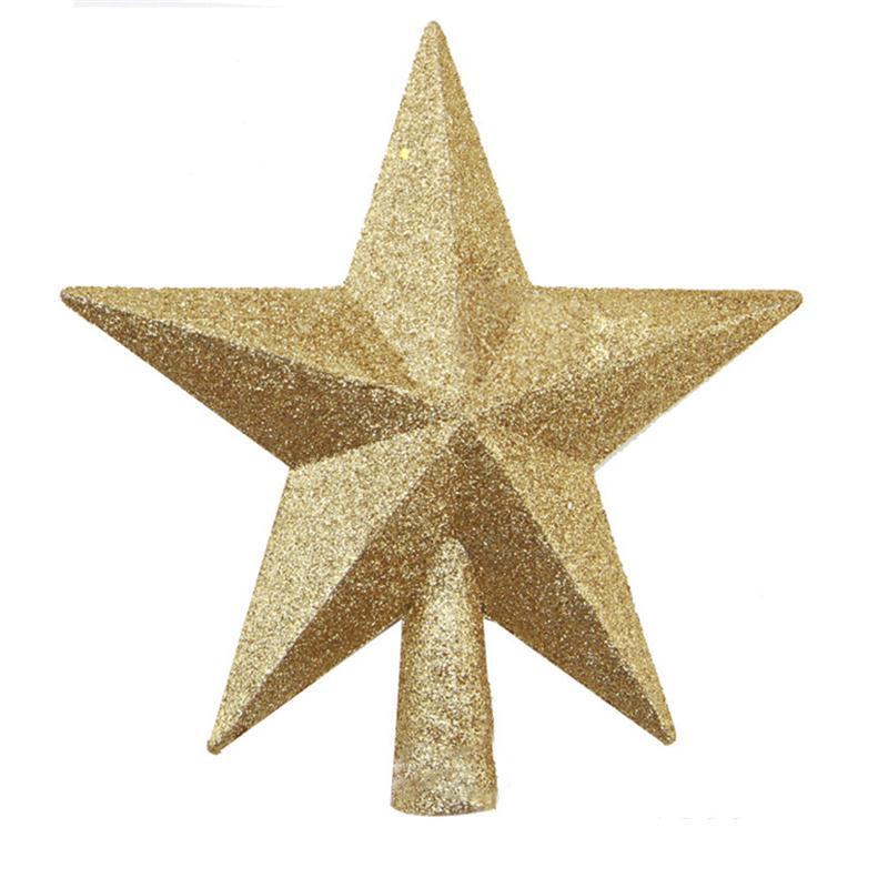 Weihnachtsbaum Top Star Weihnachtsstern Tree Topper für Tisch Ornament Weihnachten dekorative Party Event Supplies