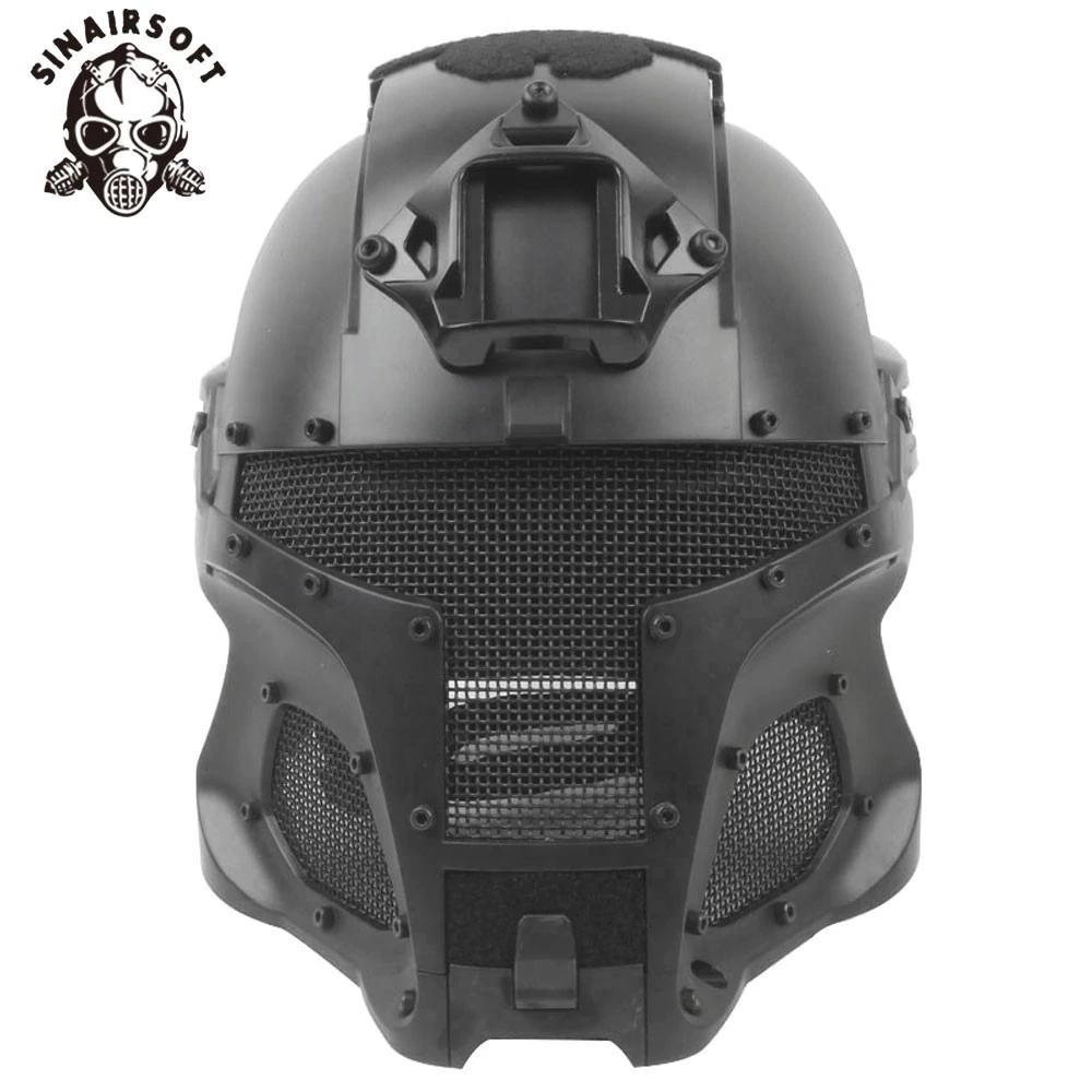 SINAIRSOFT Tactical Ballistic Helmet Side Rail NVG Shroud Transfer Base Dial Knob Outdoor Sport Helmets Army Combat Airsoft Paintball casque