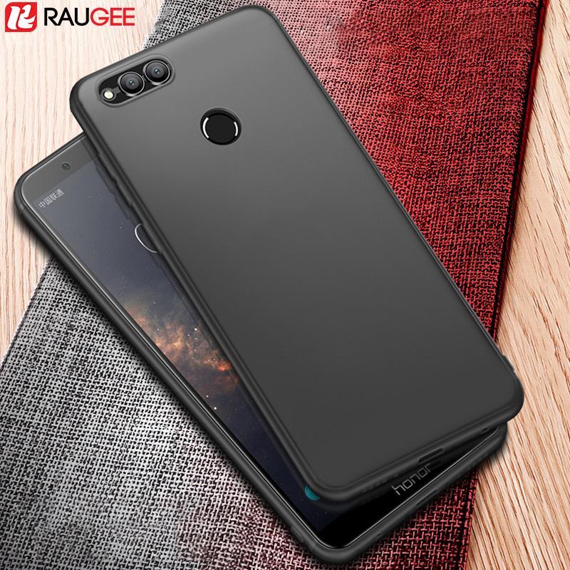 Huawei Honor 7x Case Zderzak Back Cover Protector UltraThin Matte Matte Miękkie Silikon TPU Case do Huawei Honor 7x Fundas