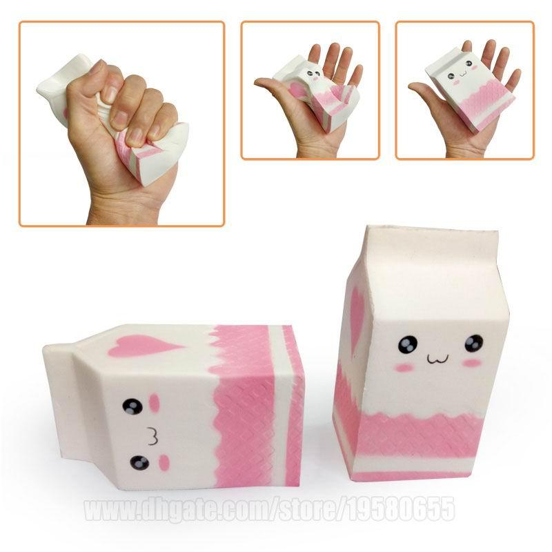 Milk Carton Squishy Box Kawaii Big Squishies Toy