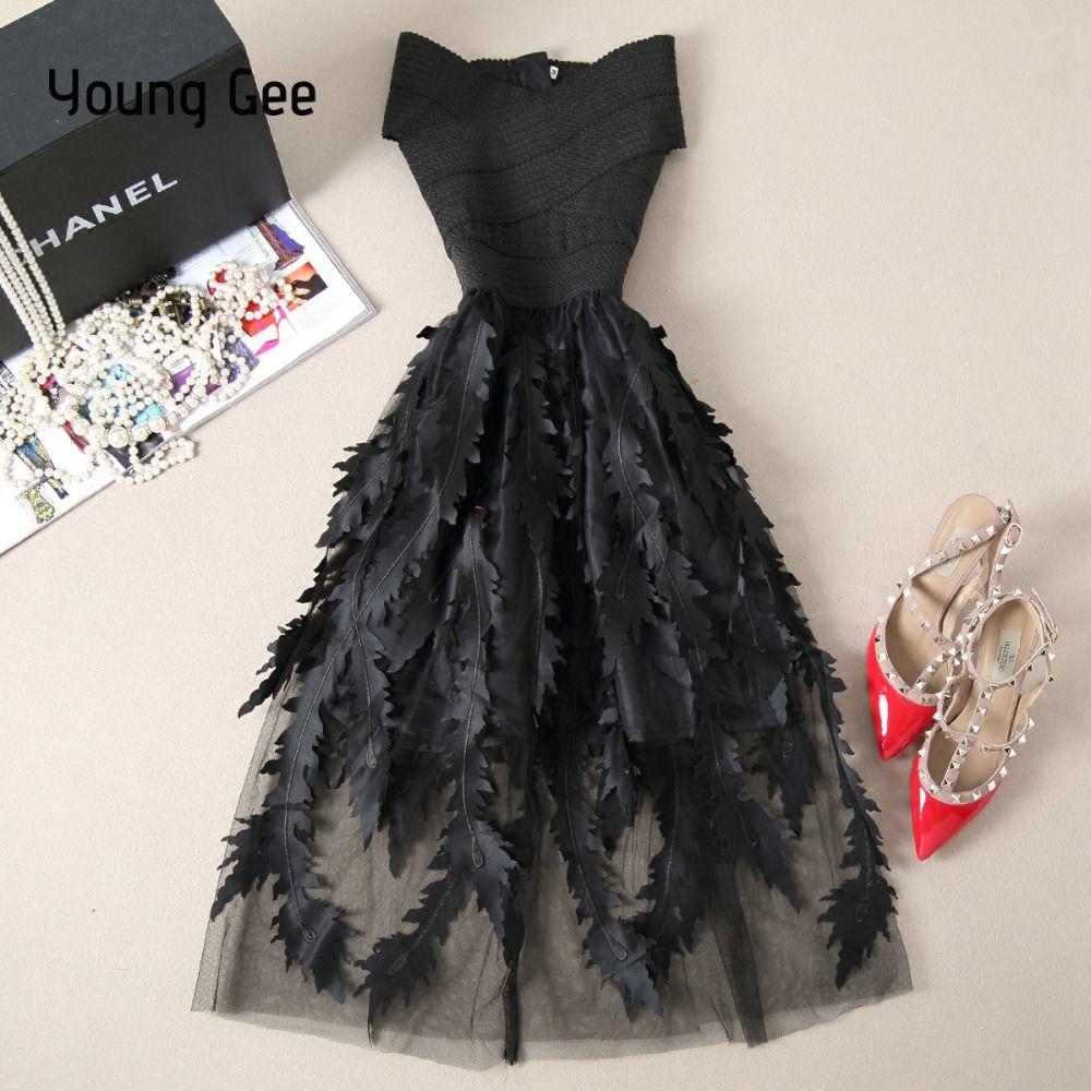 оптовые женщины кружева повязки лоскутное стрейч элегантное платье старинные цветочные Fitflare платья Платье вечерние платья Vestido
