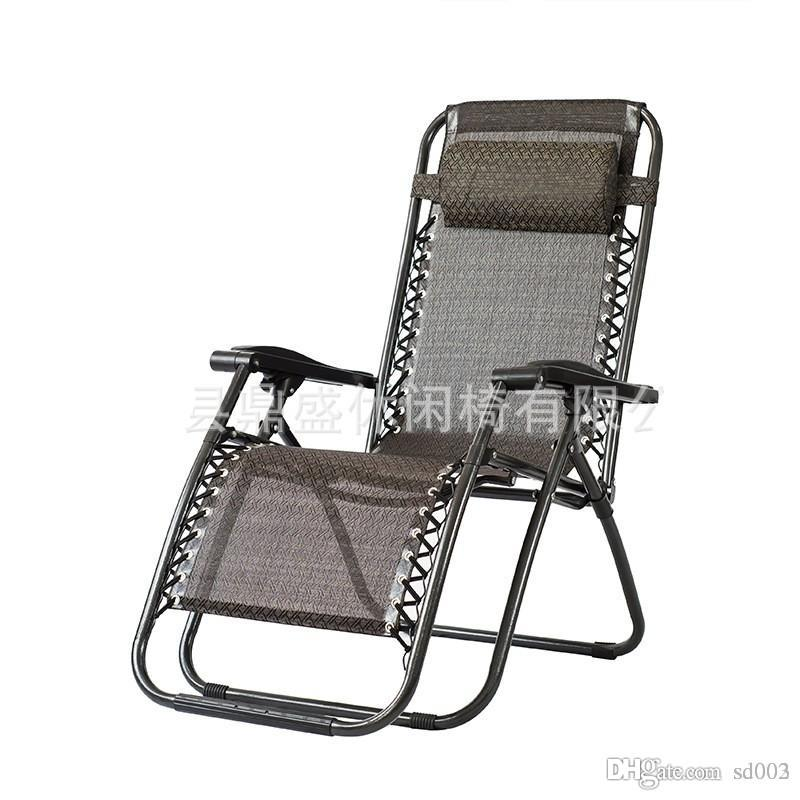 Outdoors Casual Time Foldable Deck Chair For Office Practical Beach Backrest Chairs Portable Bed Outdoor Fishing Use 85ds ZZ