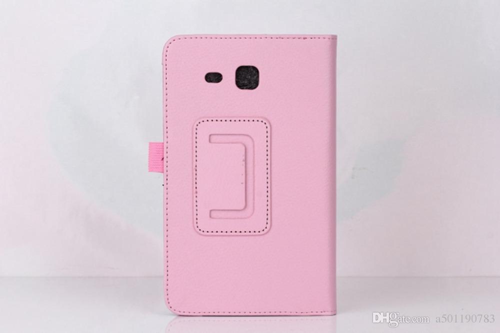 Cases For Samsung Galaxy Tab A6 7.0 SM T280 SM T285 Coque Litchi ...