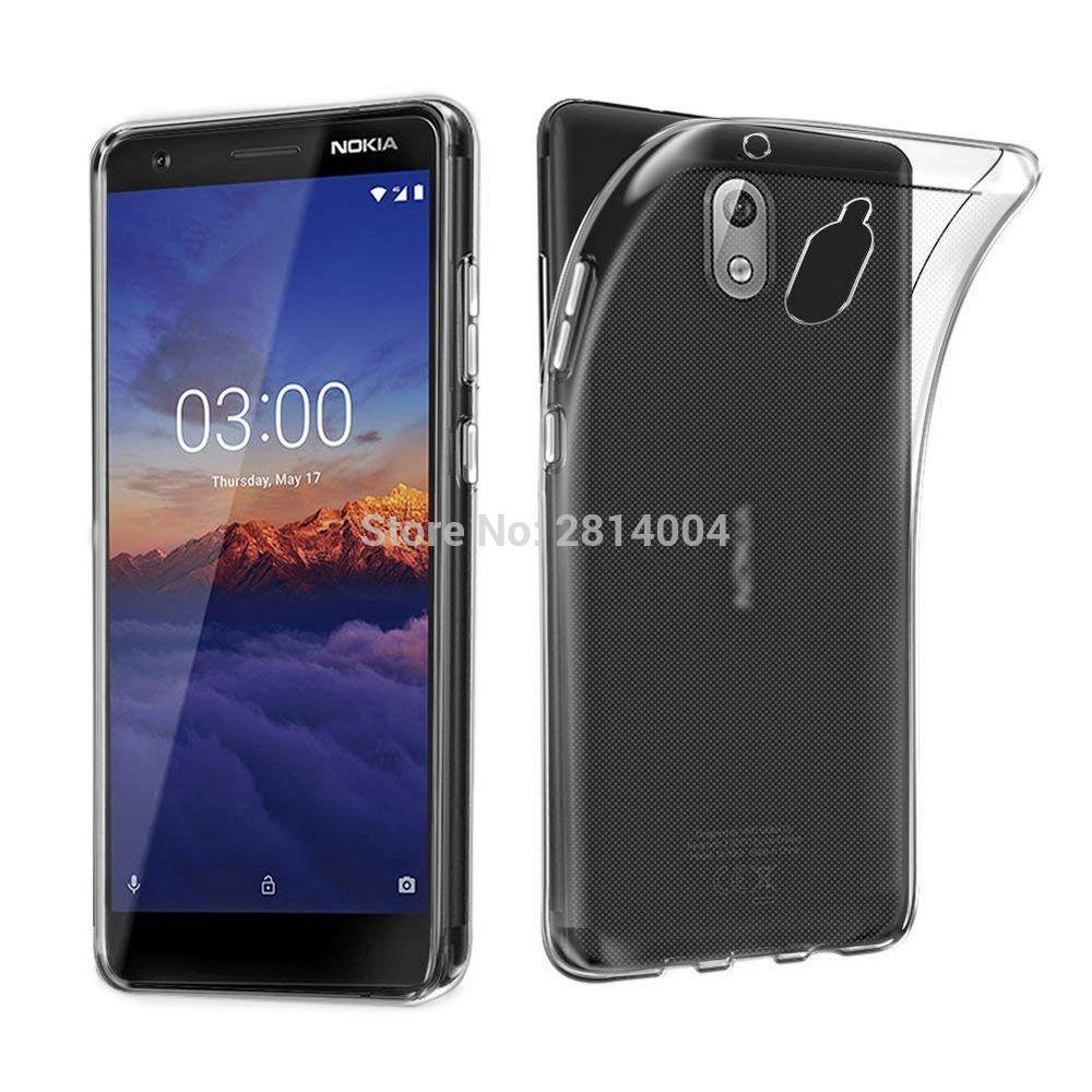 Venta al por mayor de calidad superior transparente transparente claro cristalino fino TPU caso de la cubierta para Nokia 2.1 5.1 Plus 3.1 5.1 6.1 Plus 7 Plus 6.1 100pcs