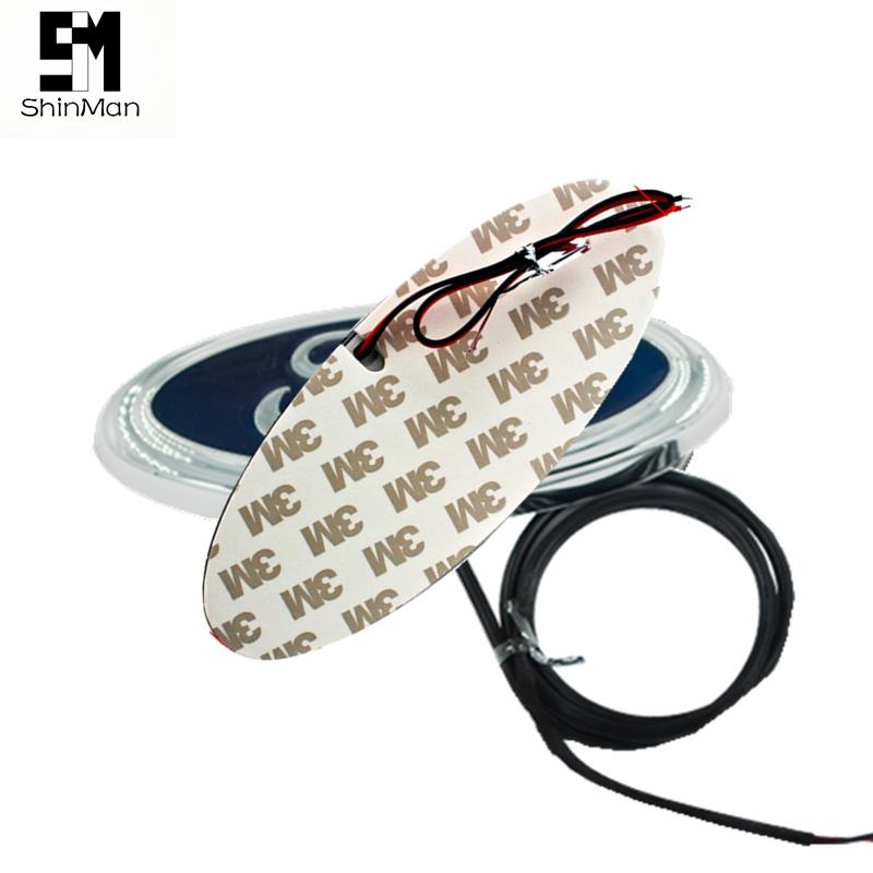 Shinman 14.5x5.6cm 4D는 4D 상징 로고 빛 주도 포드 초점 Mondeo의 자동차에 대한 자동차 엠블럼 배지 빛 주도 자동차 로고 빛을 주도