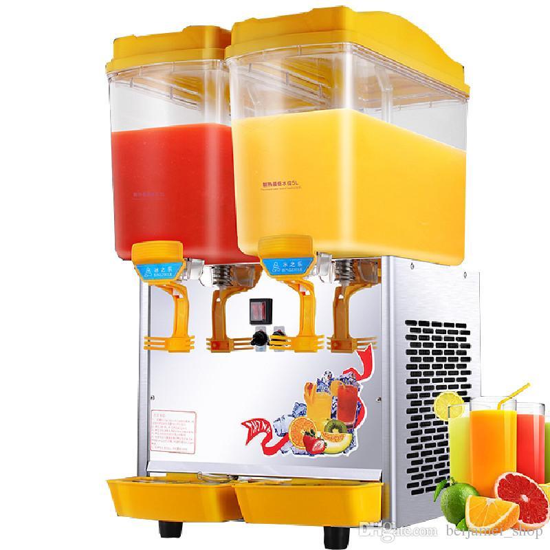 Beijamei Bester Verkauf 17L * 2 Kommerziellen Zwei Tank Kalte Getränke, Der Maschine Kalte Heißsaftspender Getränkemacher