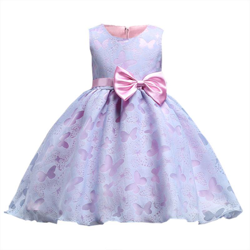 Compre Vestidos De Niña De Flores 2 10 Años Ropa Para Niños Disfraz De Princesa Tutu Vestido Para Niñas Ceremonia De Graduación Vestido De Novia