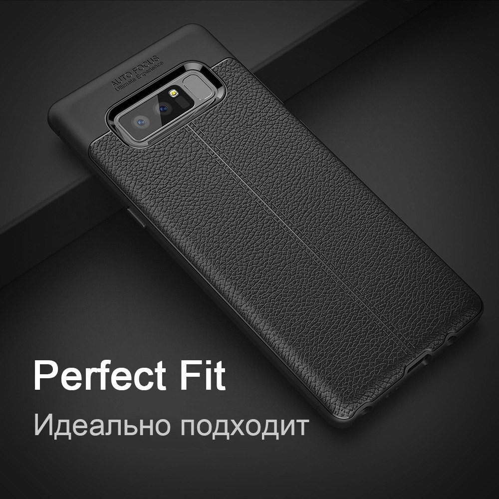 Карбоновый чехол для Samsung Galaxy Note 8 9 S7 S8 S9 Plus A3 A5 A7 2017 чехол кожаный чехол ТПУ мягкий чехол