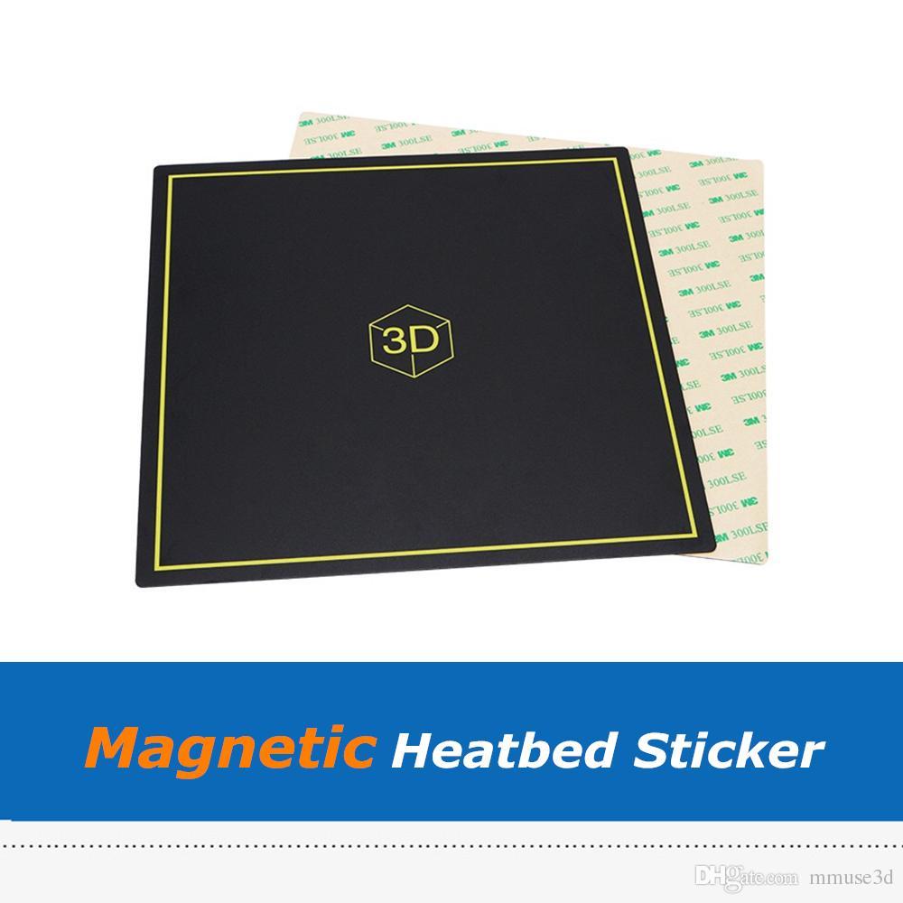 300*300 мм матовый Flex магнитный тепла кровать стикер лист с 3 м ленты для Creatity Эндер-3 Hotbed 3D принтер частей