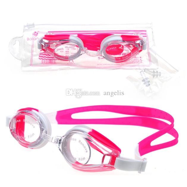 2018 Nuevas gafas de natación unisex nuevas, gafas de natación Sin fugas Protección contra rayos ultravioleta Protección UV para hombres y mujeres Gafas de natación universal 9 colores