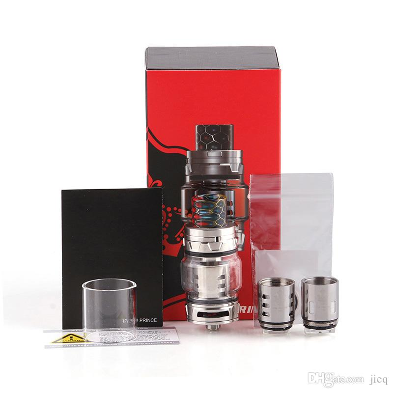 2018 TFV12 Cloud Beast Prince Tank 8ml Capacity 25 5mm Diameter Wide Bore  Drip Tip Sub Ohm Atomizer 0266171 3 Spray Bar Nozzles Spray Bottle