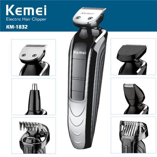 Compre T028 5 Em 1 Corte De Cabelo Maquina De Cortar O Cabelo Máquina De Cortar Cabelo Barba Elétrica Aparador De Barba Homens Ferramentas De Estilo