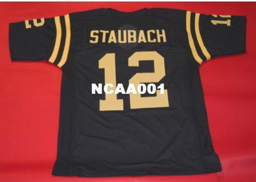 separation shoes 5c3c9 99e29 2019 CUSTOM Men NAVY MIDSHIPMEN #12 ROGER STAUBACH BLUE JERSEY HEISMAN  College Jersey Size S 4XL Or Custom Any Name Or Number Jersey From Ncaa001,  ...