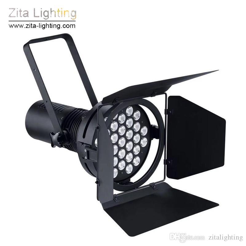 Zita Lighting Auto Show Lights Car Motor Exhibition Par Lights Stage Lighting Cooler Master DMX512 31X10W Cool White Gallery Fair Hall