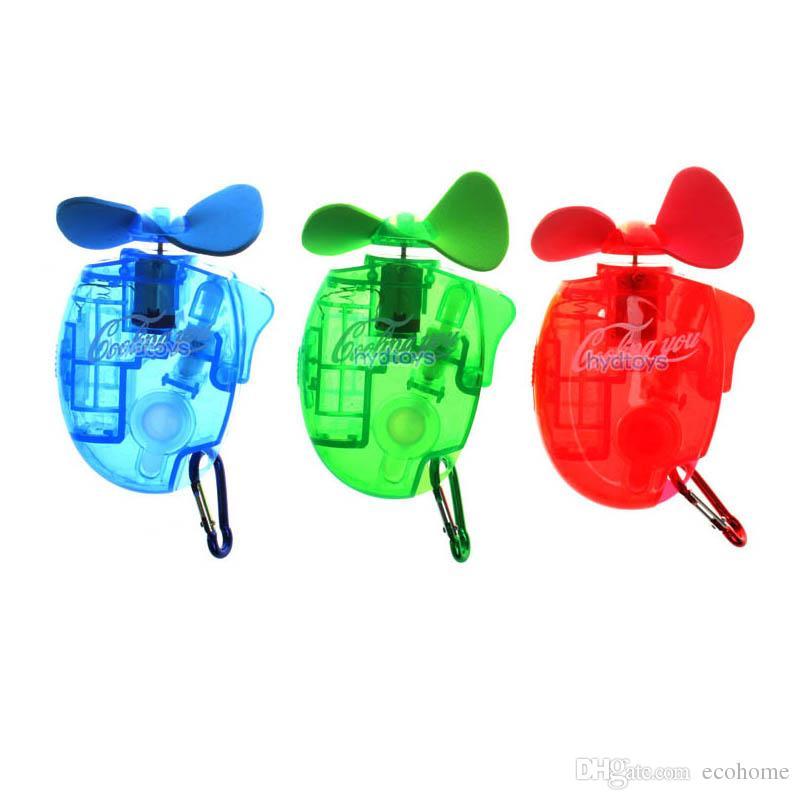 Mini tenuto in mano ventilatore portatile dello spruzzo d'acqua del ventilatore esterno umidificatore nebbia fredda Diffusore per i bambini allievi dei bambini regalo Estate