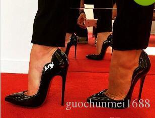 Mode Frauen Pumpt Frauen Schuhe IRed Bottom High Heels Stilettos Pumpt Schuhe Für Frauen Sexy Party Hochzeit Schuhe Frau High Heels
