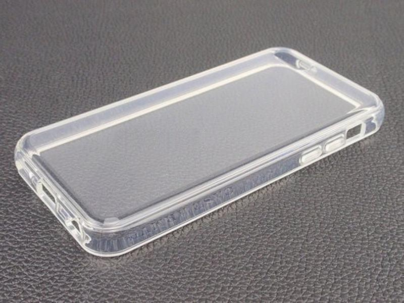 cover iphone 5 silicone trasparente